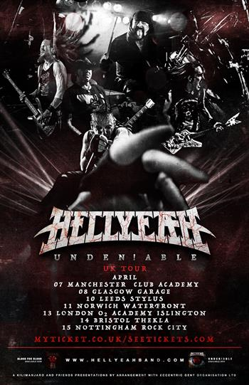 HELLYEAH UK Tour 2017