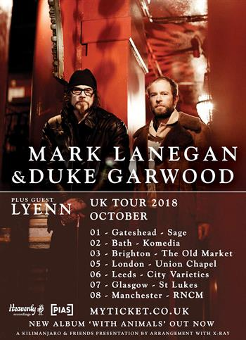 Mark Lanegan support 0409