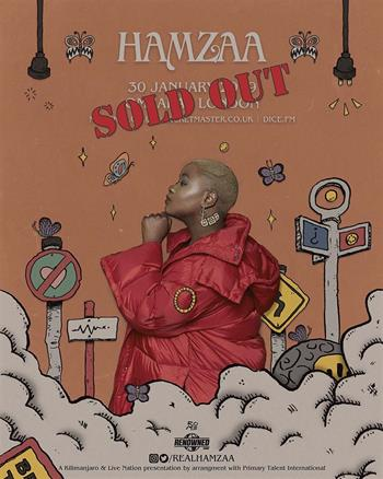 hamzaa sold out 1701