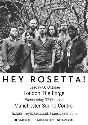 Hey Rosetta! UK Tour 2015