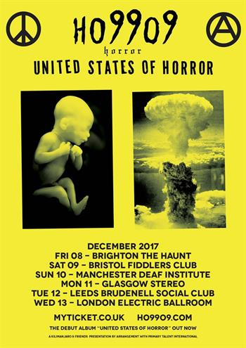 Ho99o9 (Horror) UK Tour 2017
