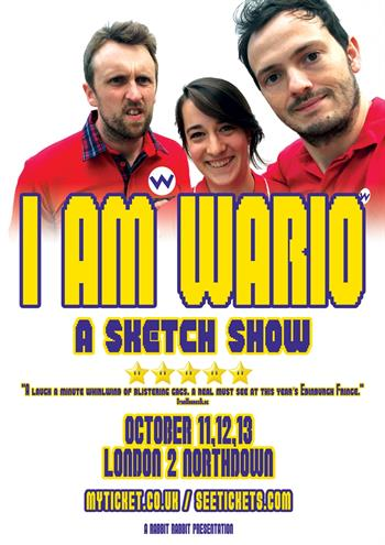 I Am Wario UK London 2017 shows