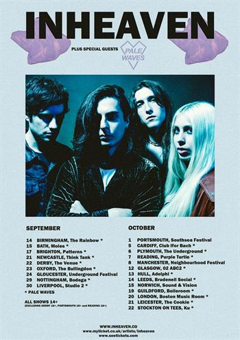 Inheaven UK Tour 2016