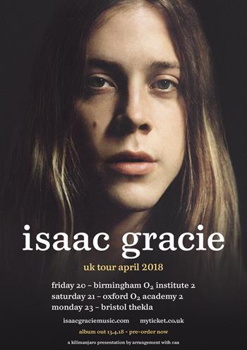 Isaac Gracie UK Tour 2018