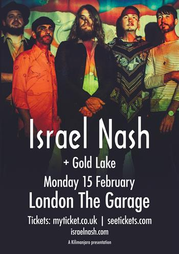 Israel Nash UK London 2016 show
