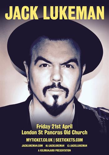 Jack Lukeman UK London 2017 show