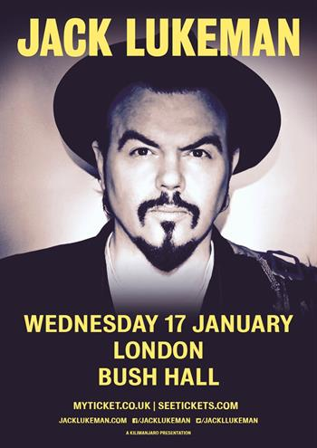Jack Lukeman UK London 2018 show