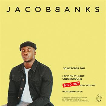 Jacob Banks UK London 2017 show