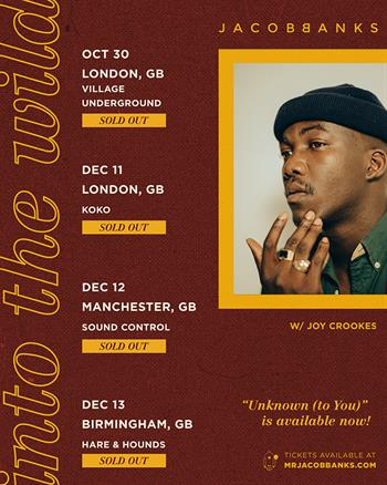 Jacob Banks Sold out
