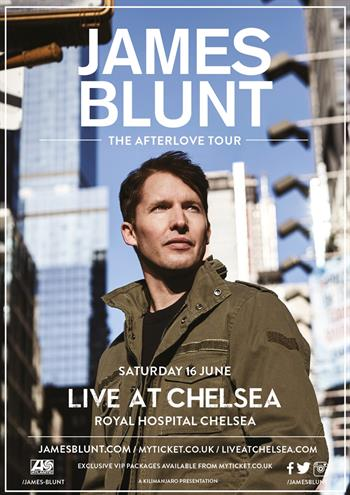 James Blunt concert 2018 Live at Chelsea UK London