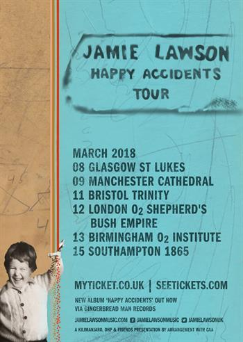 Jamie Lawson UK Tour 2018