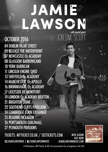 Jamie Lawson UK Tour 2016