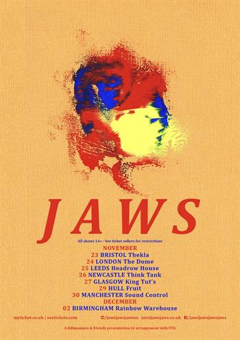 Jaws UK Tour 2016