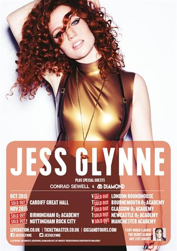 Jess Glynne UK Tour 2015