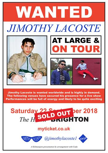 Jimothy Lacoste Sold Out