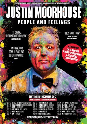 Justin Moorhouse UK Tour 2017