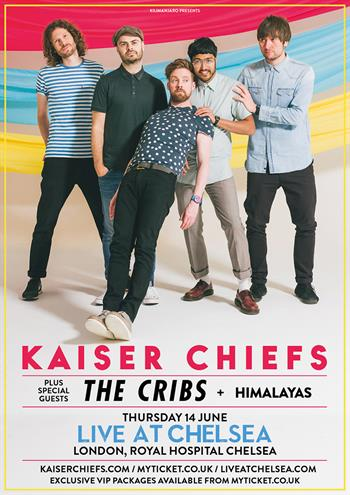 Kaiser Chiefs with support