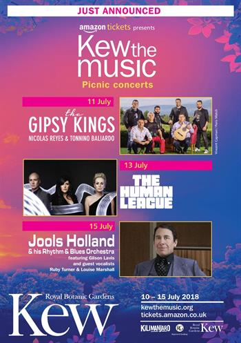 Kew the Music 2018 UK London summer concert