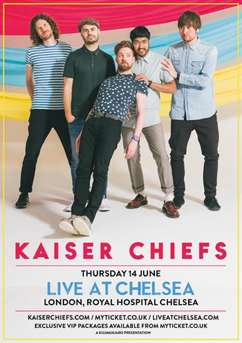 Kaiser Chiefs concert Live at Chelsea 2018 UK London concert series