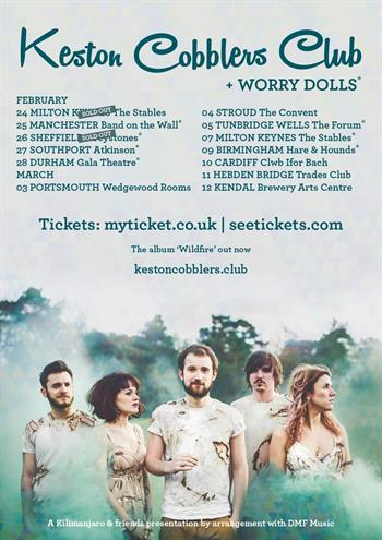 Keston Cobblers Club UK Tour 2016