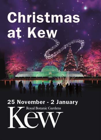 Christmas at Kew UK London 2015