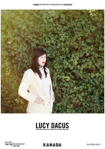 Lucy Dacus UK London show 2016