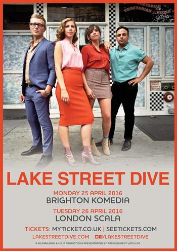 Lake Street Dive UK Tour 2016