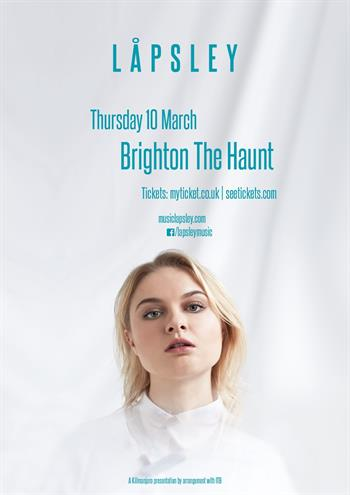 Lapsley UK Brighton 2016 show