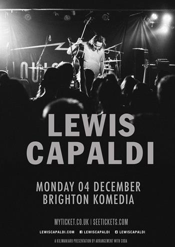 Lewis Capaldi UK Brighton 2017 show