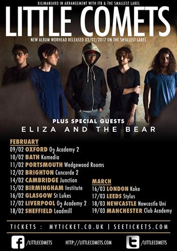 Little Comets UK Tour 2017