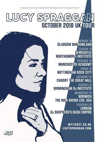 Lucy Spraggan UK Tour 2018