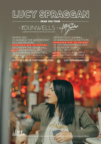 Lucy Spraggan tour 2017