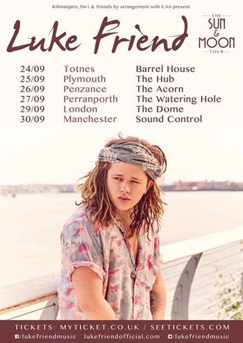 Luke Friend UK Tour 2015