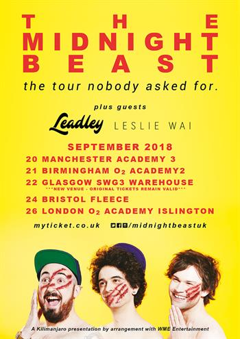 Midnight Beast Tour With Support