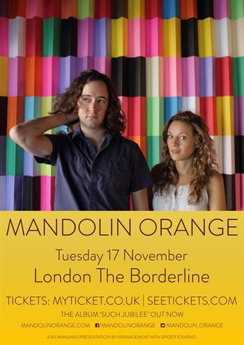 Mandolin Orange UK London 2015