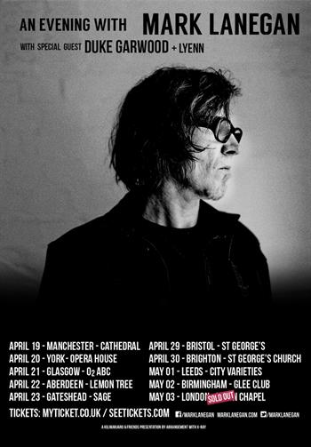 An Evening with Mark Lanegan UK Tour 2016