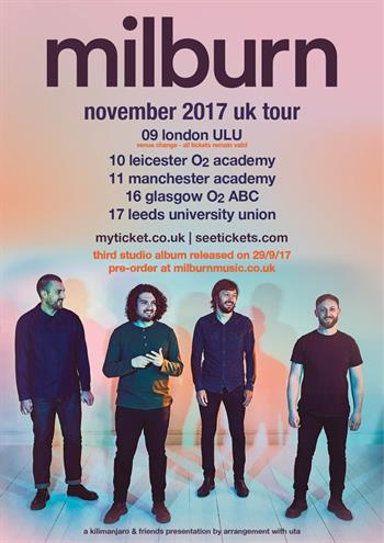 Milburn UK Tour 2017