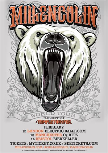 Millencolin UK Tour 2016