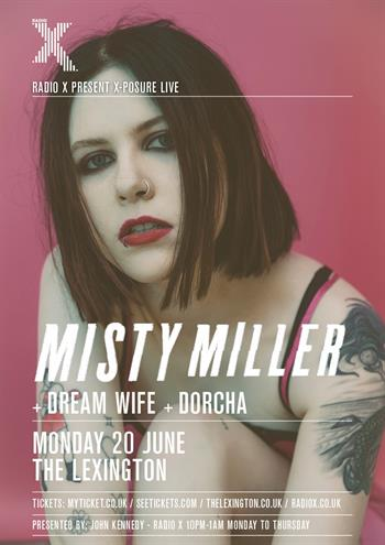X-Posure Live with Misty Miller UK London 2016 show