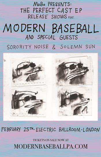 Modern Baseball UK Tour 2016