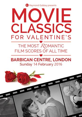 Movie Classics for Valentine's UK London 2016 show