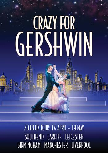 RGL presents Crazy for Gershwin UK Tour 2018