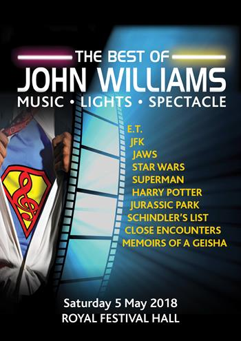 RGL presents The Best of John Williams UK London 2018 show