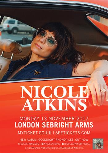 Nicole Atkins UK Tour