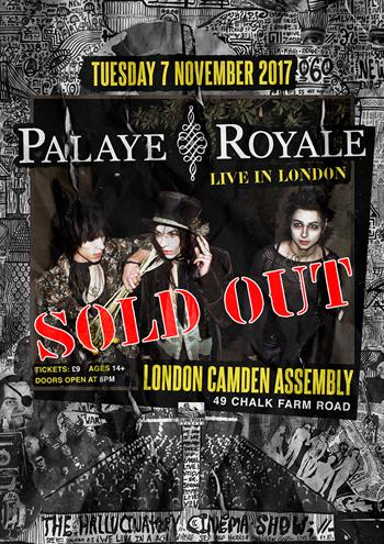Palaye Royal Sold Out