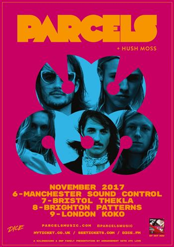 Parcels UK Tour 2017