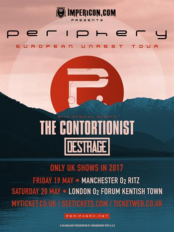 Periphery May Tour