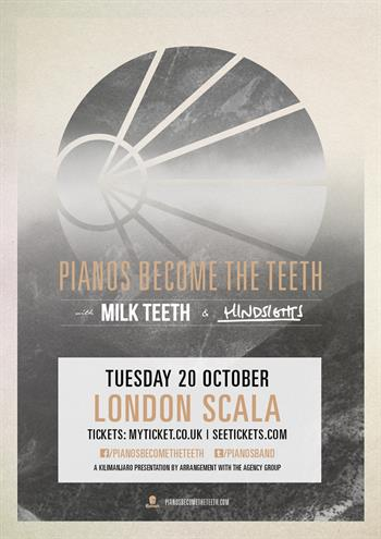 Pianos Become The Teeth UK London 2015
