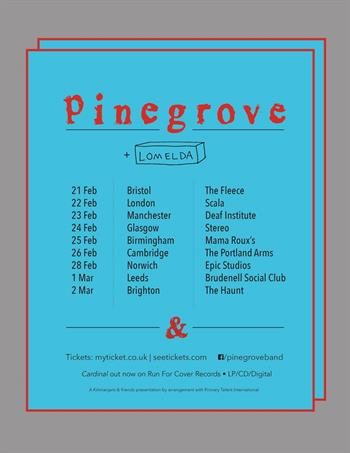 Pinegrove UK Tour 2017