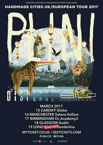 Plini UK Tour 2017